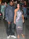 Kim Kardashian and Kanye West head to a fashion event at Cipriani Wall Street
