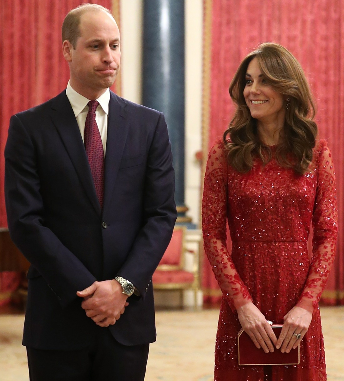 The Duke And Duchess Of Cambridge host a UK-Africa Investment Summit at Buckingham Palace