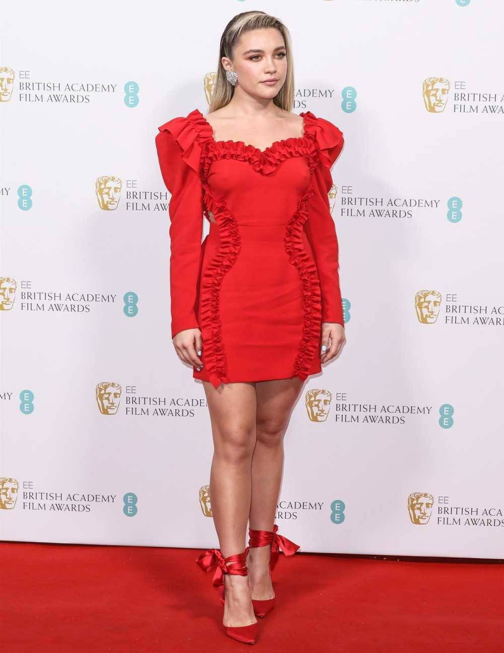 Celebrities attend the BAFTA Nominees Party