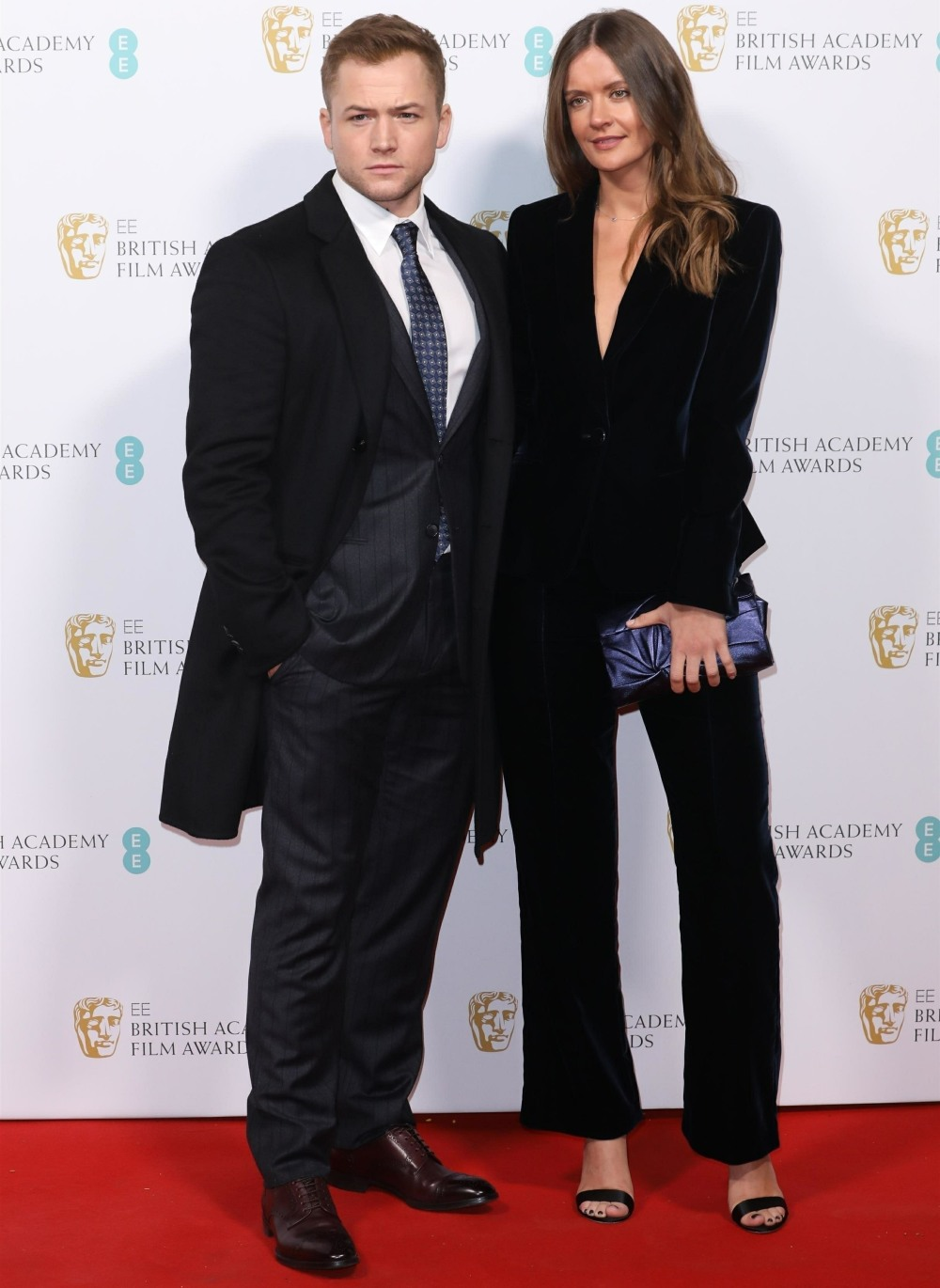 Celebrities arrive at the BAFTA Nominees Party