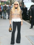 Singer turned author Jessica Simpson arrives at The View
