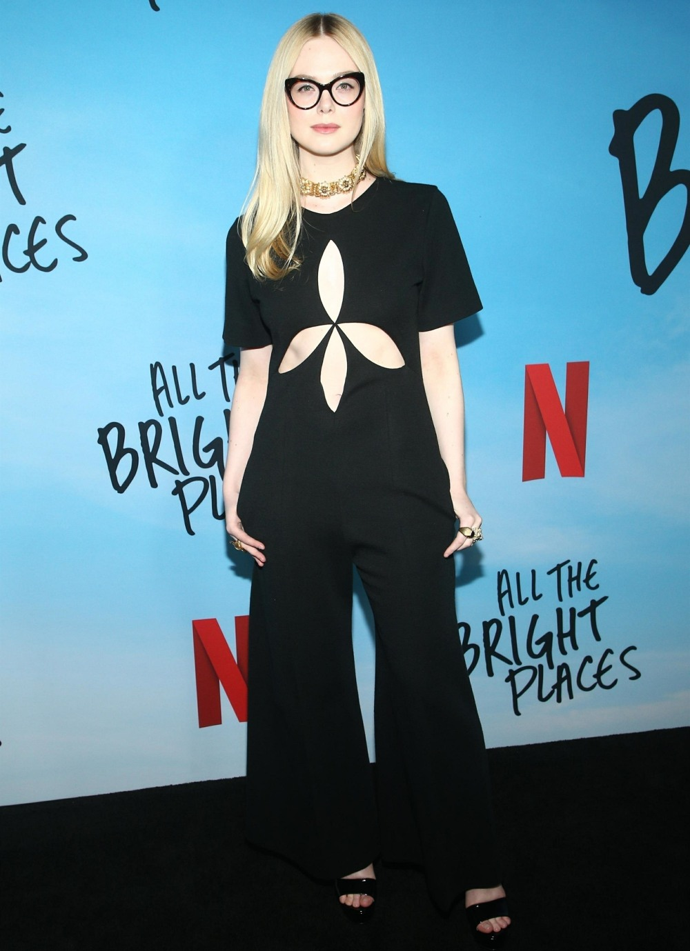 Guest arrivals for the premiere of Netflix's 'All the Bright Places'