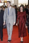 King Felipe and Queen Letizia attend the opening of ARCO in Madrid!