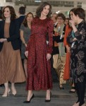 Queen Letizia and King Felipe during the opening the international ARCO art fair
