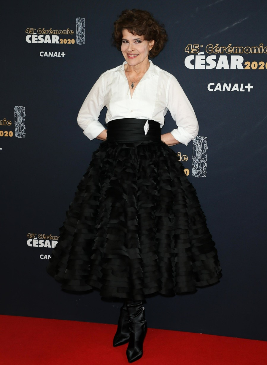 Stars take the red carpet at the Cesar Film Awards 2020 in Paris