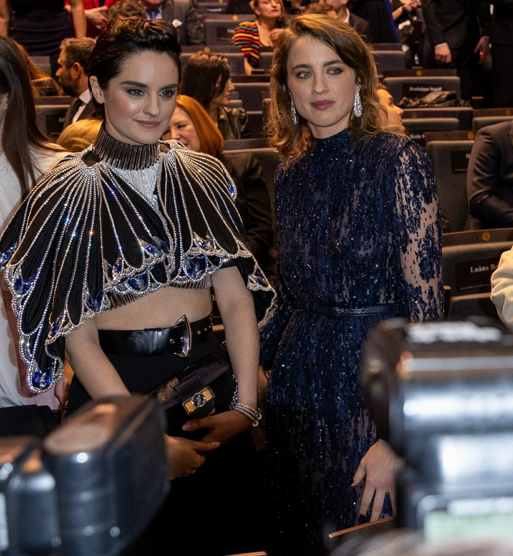 Stars get seated at the 2020 Cesar Film Awards in Paris