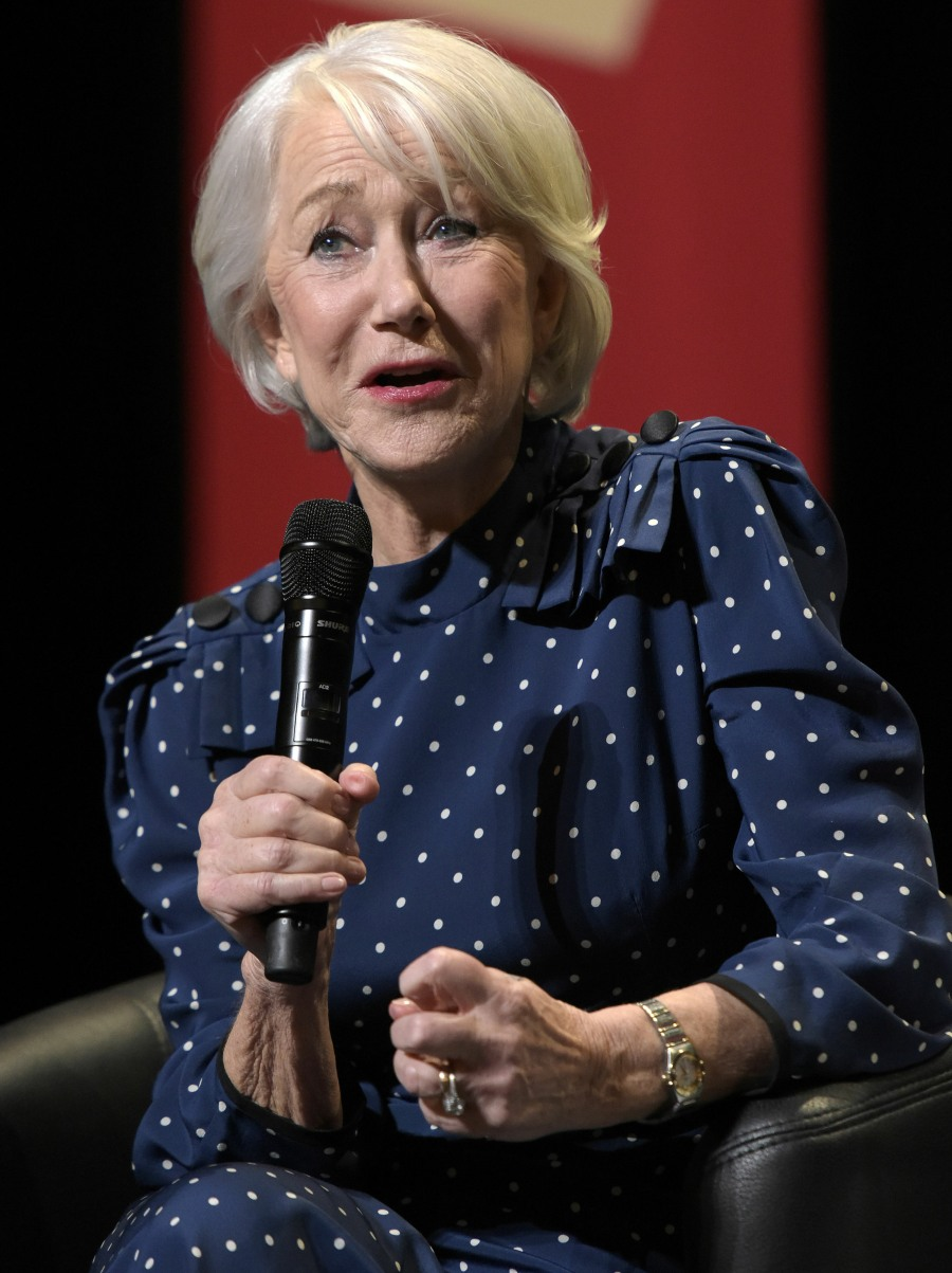 Panel discussion with Helen Mirren, Berlinale 2020