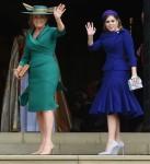 Sarah Ferguson, Duchess of York, and HRH Princess Beatrice