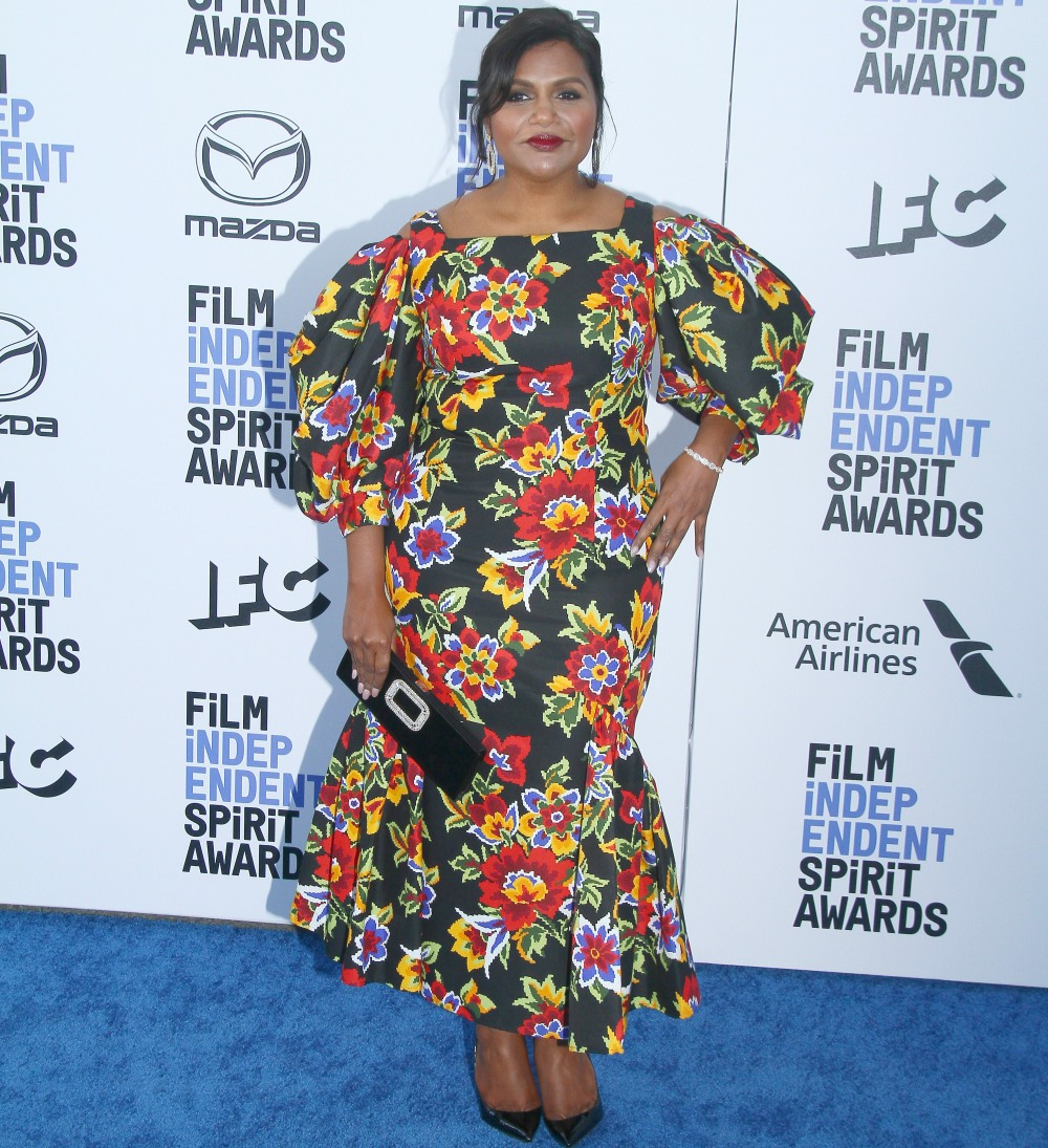 Mindy Kaling attends The 2020 Film Independent Spirit Awards in Los Angeles