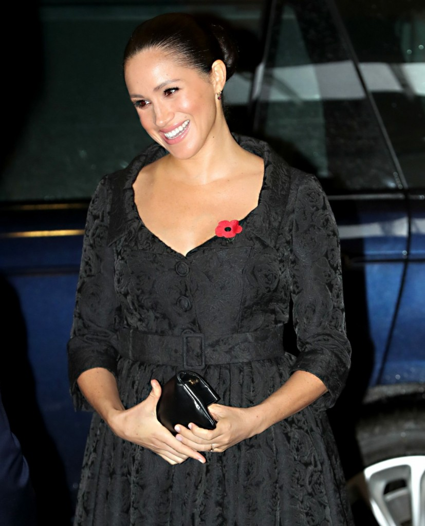 Meghan, Duchess of Sussex attends the annual Royal British Legion Festival of Remembrance at the Royal Albert Hall on November 09, 2019 in London, England.