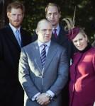 The Royal Family Christmas Day 2013