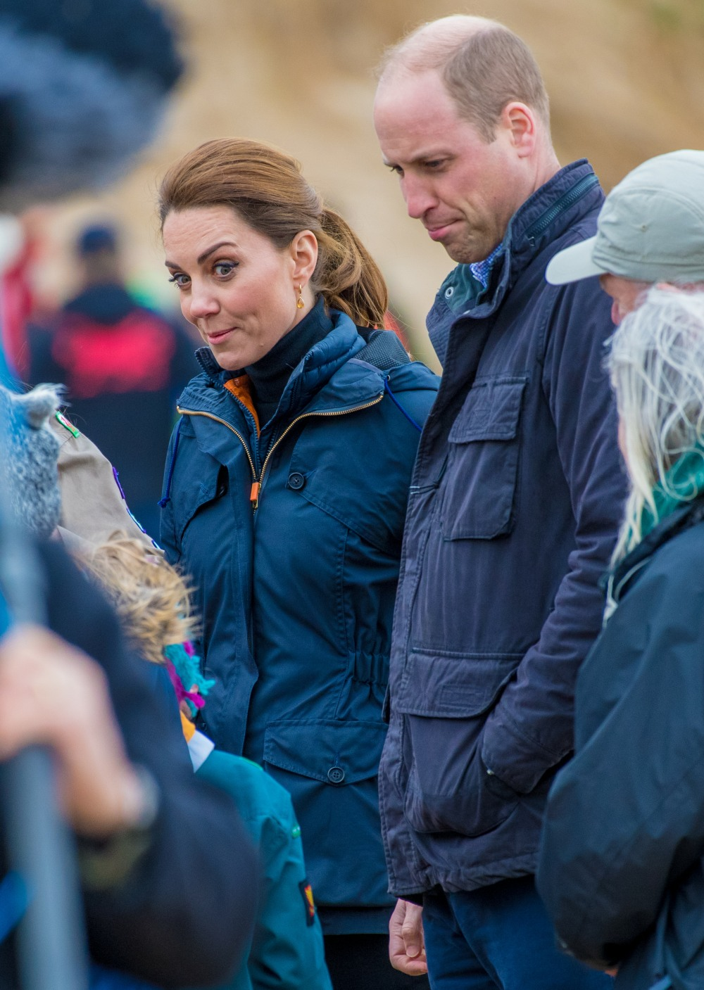 Prince William says the Cambridges spent their week off at a Welsh dairy farm