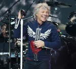 Bon Jovi Performing at Liverpool Anfield Stadium