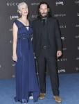 Keanu Reeves, Alexandra Grant at arrival...
