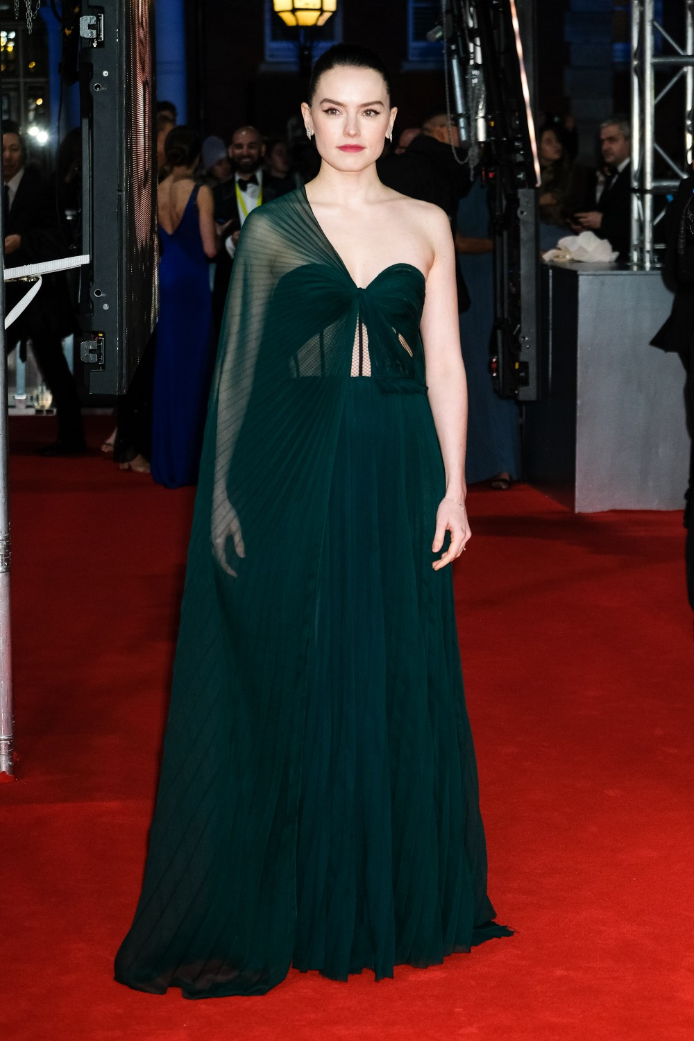 Daisy Ridley attends the 2020 EE British Academy Film Awards on Sunday 2 February 2020