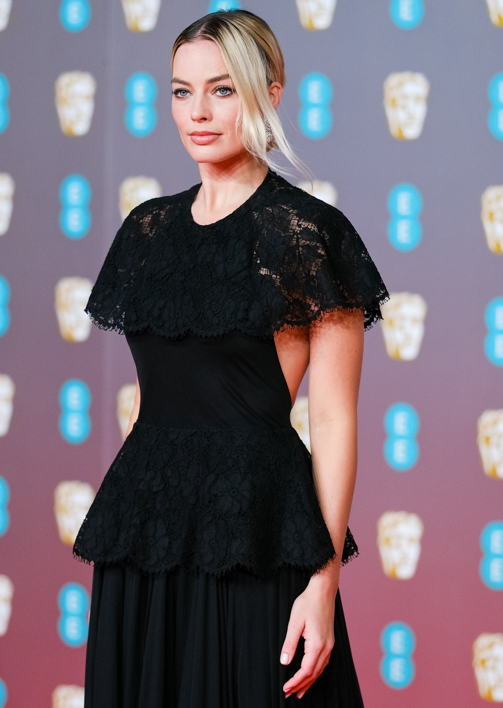 Margot Robbie attends the 2020 EE British Academy Film Awards on Sunday 2 February 2020