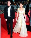 Prince William, Duke of Cambridge and Catherine, Duchess of Cambridge at EE British Academy Film Awa...