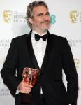 Joaquin Phoenix - Leading Actor - Joker During the 73rd British Academy Film Awards, Press Room, Roy...