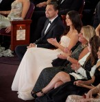 Oscar® nominee Leonardo DiCaprio during the live ABC Telecast of The 92nd Oscars® at the Dolby® T...