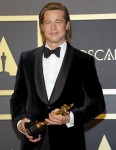 Brad Pitt at the 92nd Academy Awards - Press Room held at the Dolby Theatre in Hollywood, USA on February 9, 2020.