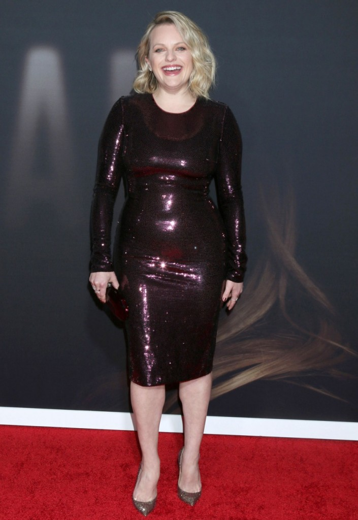 Elisabeth Moss at arrivals for THE INVIS...