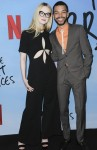 Elle Fanning, Justice Smith at arrivals...