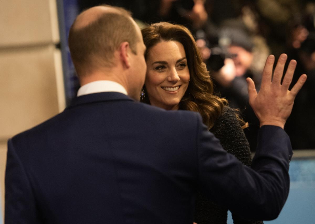 HRH Duke and Duchess of Cambridge  -  Tuesday 25 February  -  Noel Coward Theatre, London