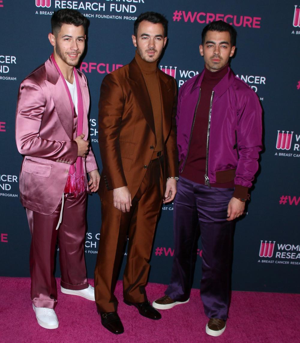 "Nick Jonas, Kevin Jonas, Joe Jonas attends ""An Unforgettable Evening""i in Los Angeles"