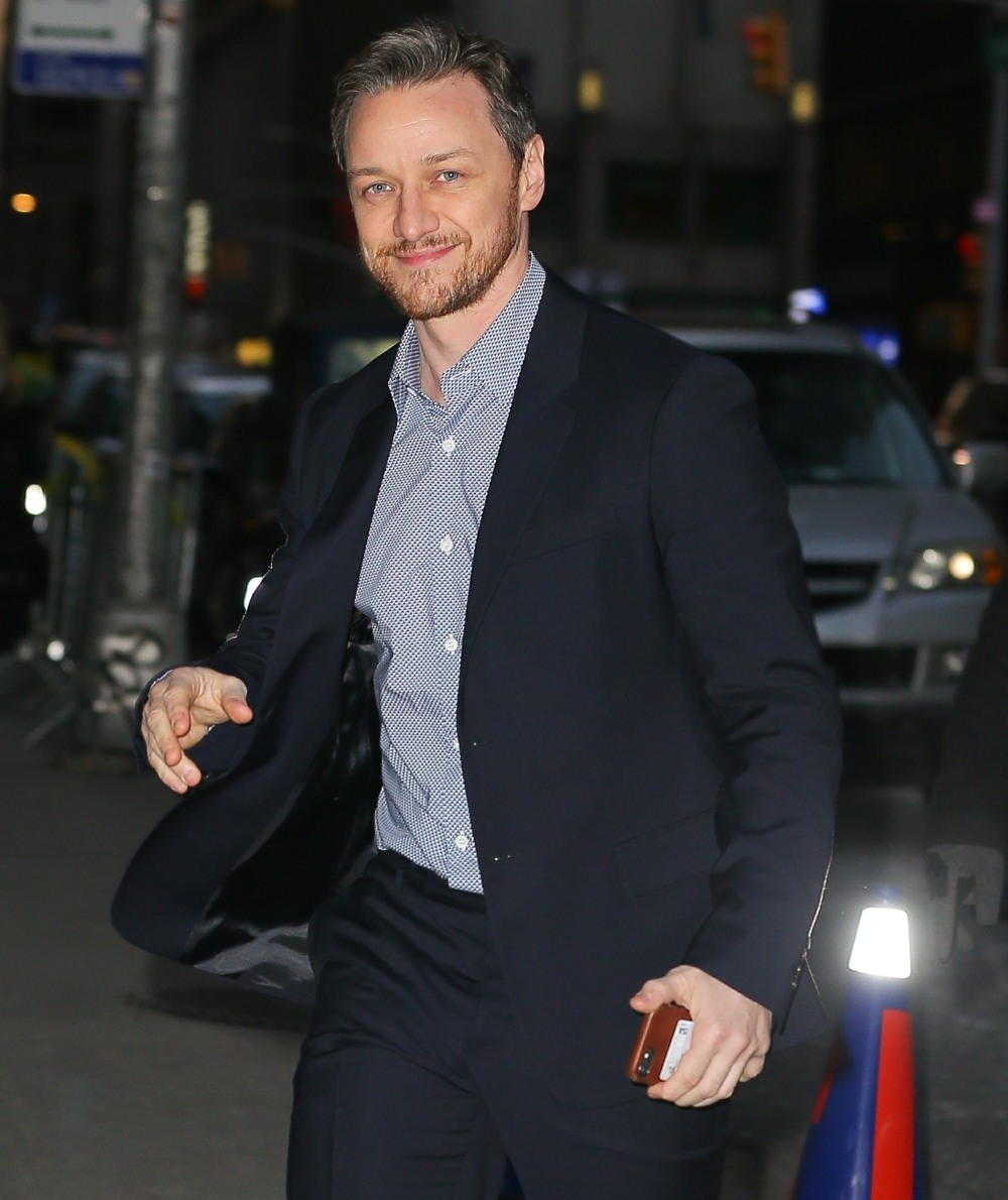 James McAvoy promotes 'Glass' on 'The Late Show with Stephen Colbert'