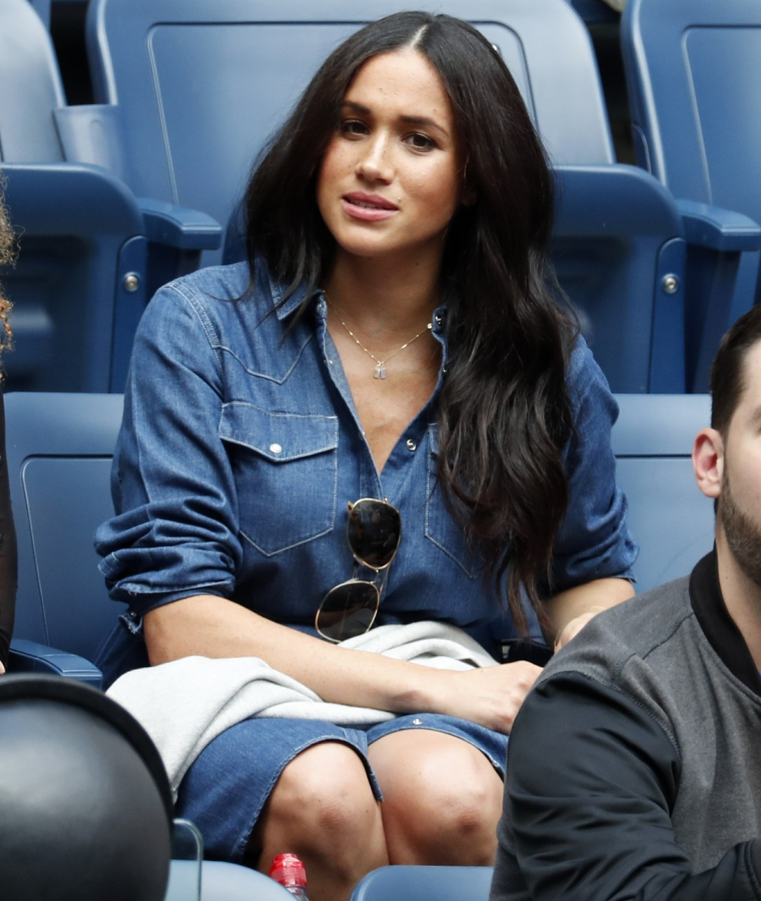 Meghan, Duchess of Sussex at the US Open Tennis