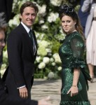 Avviso di matrimonio reale! La principessa Beatrice è fidanzata con il magnate immobiliare Edoardo Mapelli Mozzi ** FOTO FILE **