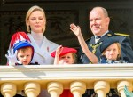 Prince Albert II and Princess Charlene of Monaco attend National Day celebrations