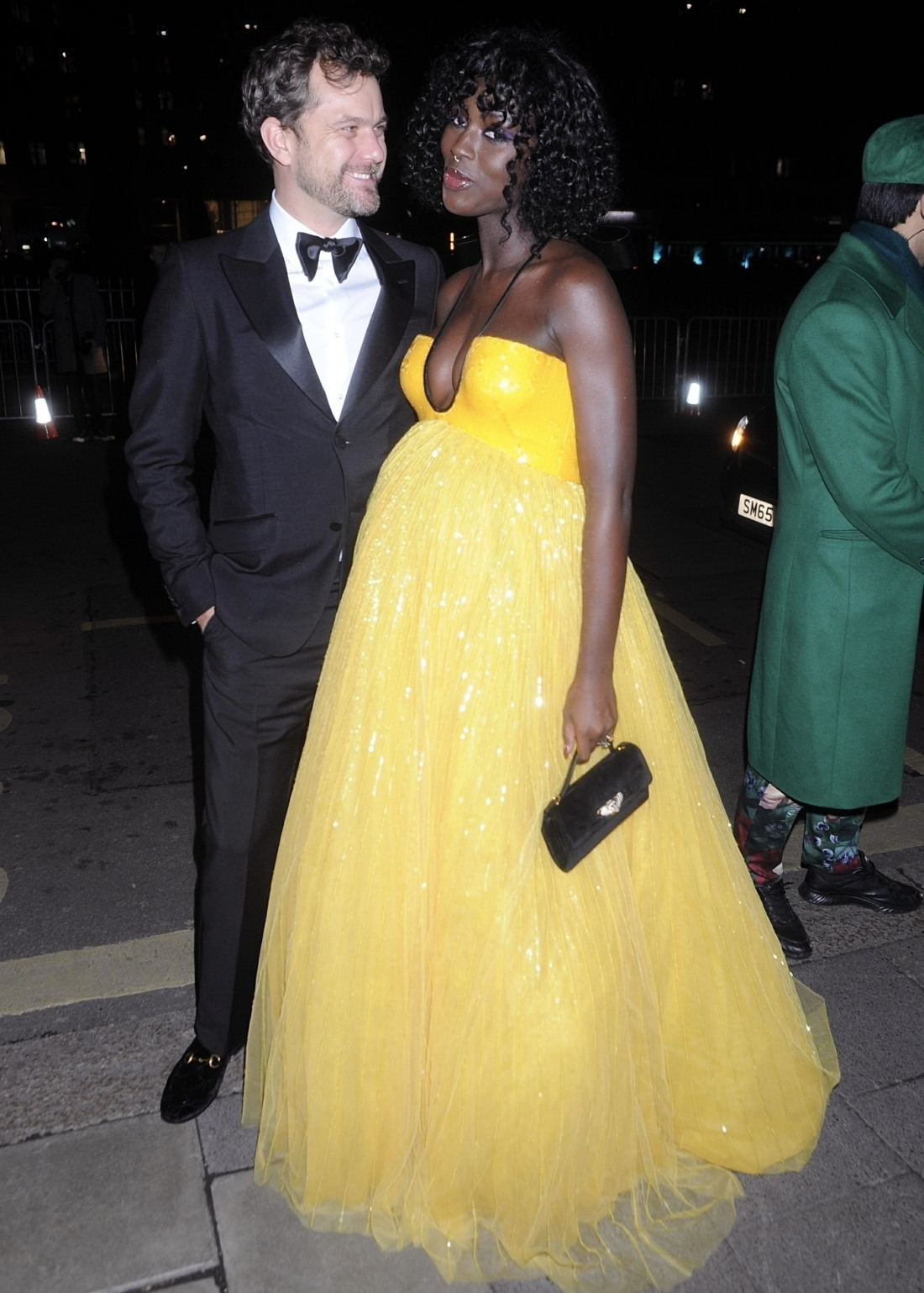 Jodie Turner-Smith and Joshua Jackson at the Vogue & Tiffany Fashion Film Party at Annabel's