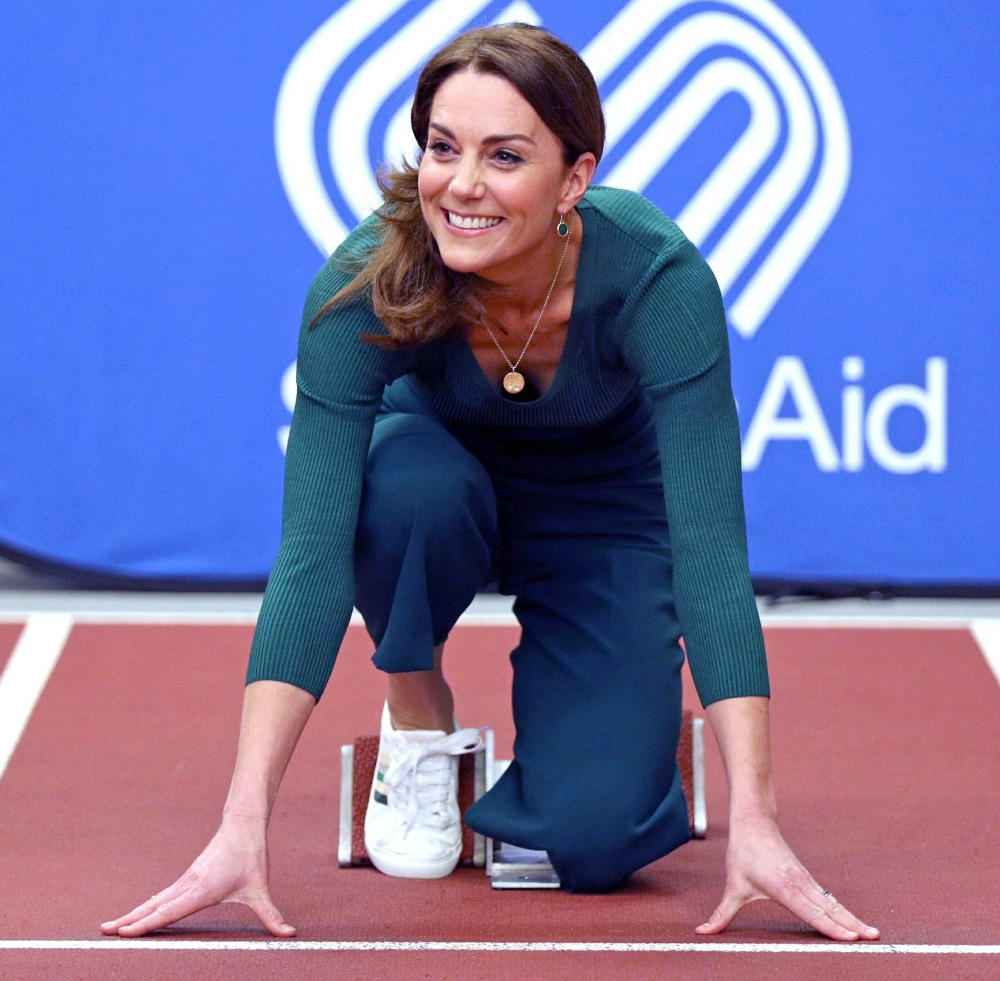 Kate Middleton scappa!