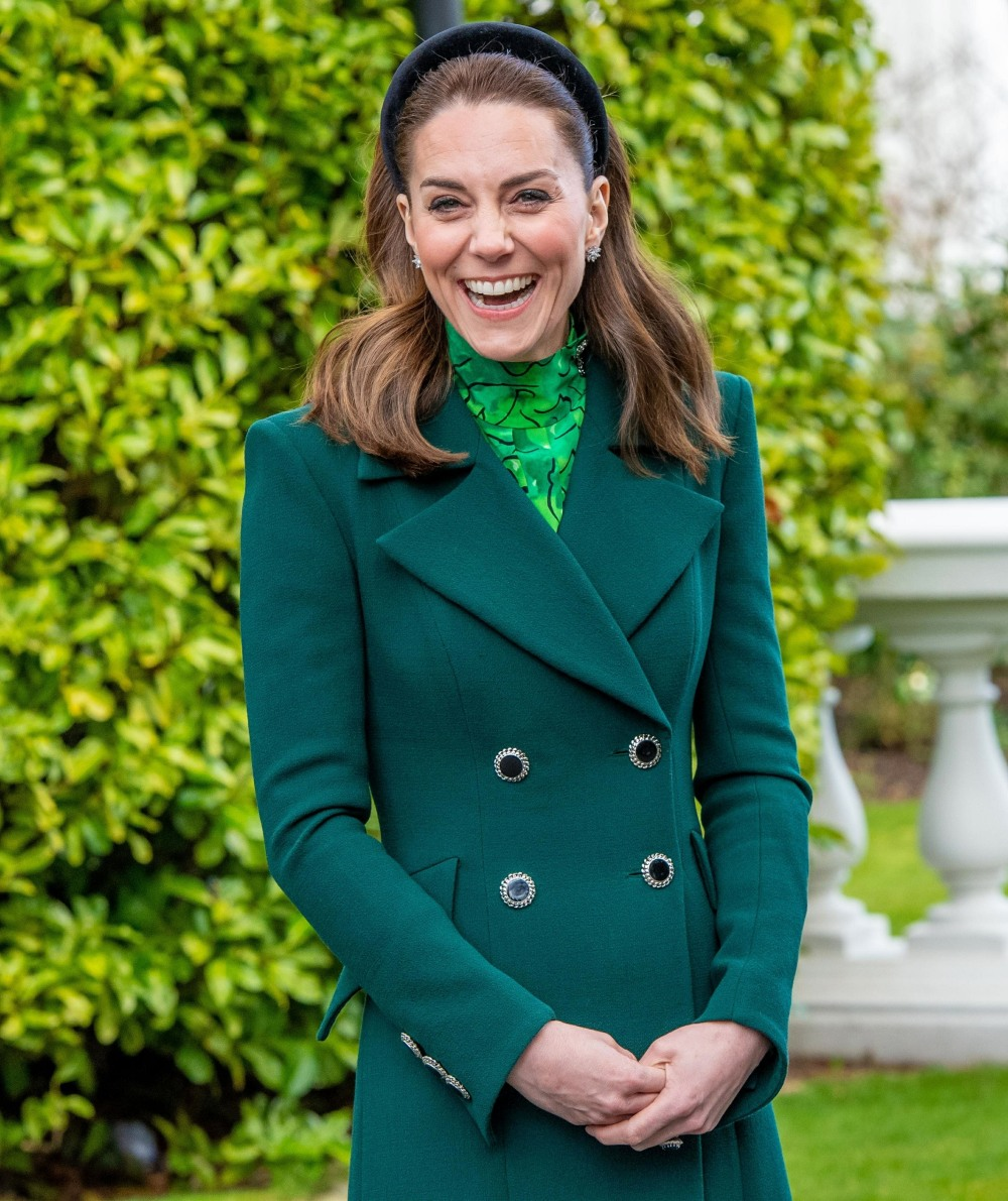 The Duke and Duchess of Cambridge visit Ireland on the first day of their 3 day visit