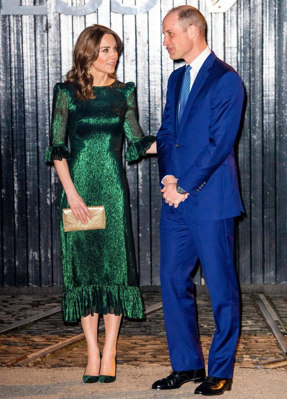Duke and Duchess of Cambridge visit the Guinness Storehouse in Dublin