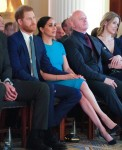 Prince Harry and Meghan Markle attend the Endeavour Fund Awards