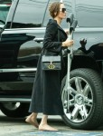Angelina Jolie goes to a movie with daughters Shiloh and Zahara in LA after revealing her daughters have recently undergone surgery