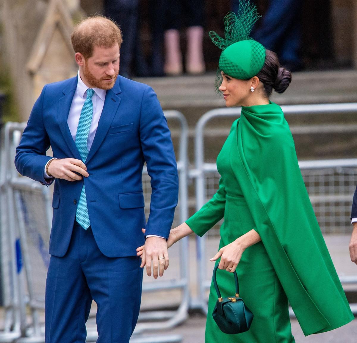 Il principe Harry e Meghan Markle hanno partecipato al loro ultimo evento ufficiale come reali di lavoro