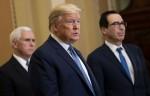 Il presidente Trump incontra i repubblicani congressuali a Capitol Hill