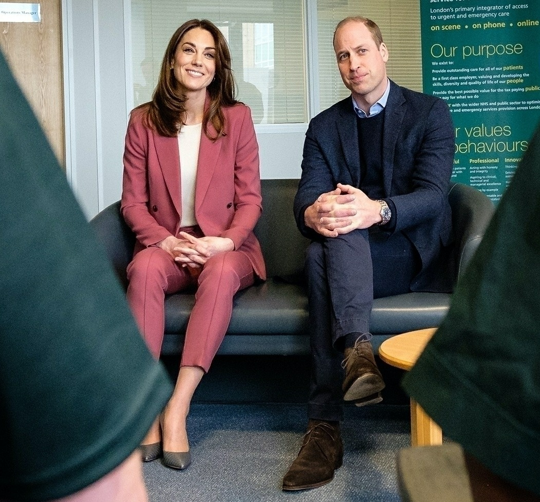 The Duke and Duchess of Cambridge visit the London Ambulance Service during the Coronavirus crisis!