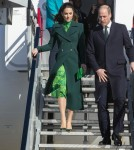 Dublin Airport the Duke and Duchess of Cambridge arrive for a 3 day visit