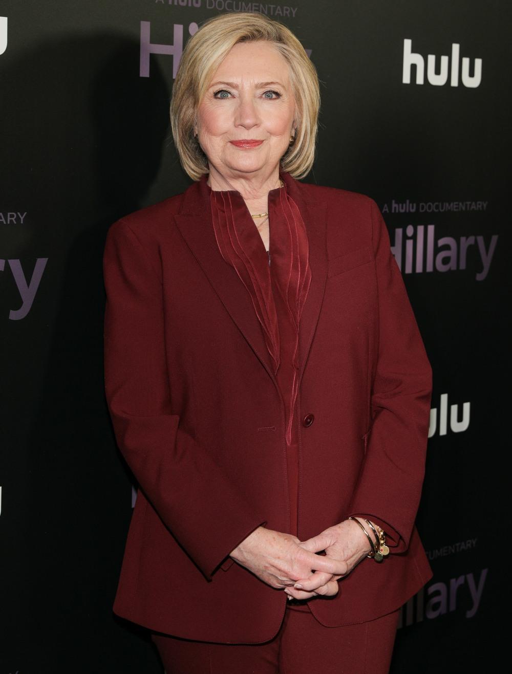 Hillary Rodham Clinton agli arrivi per ...