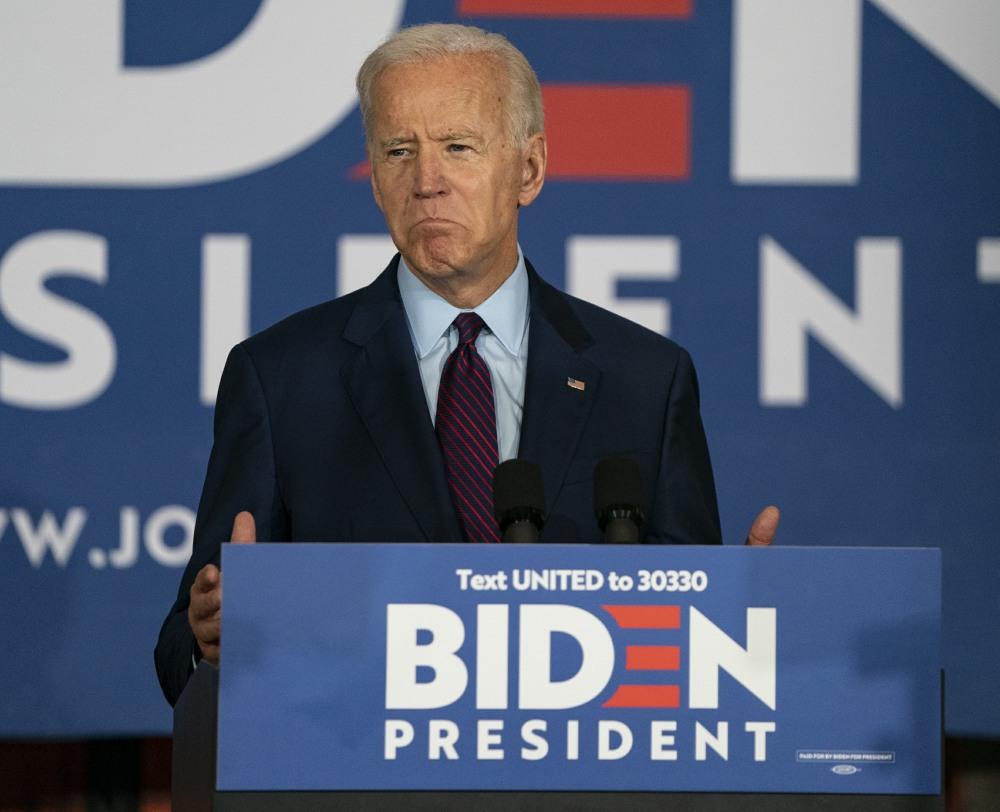 Campagne di Joe Biden in Iowa