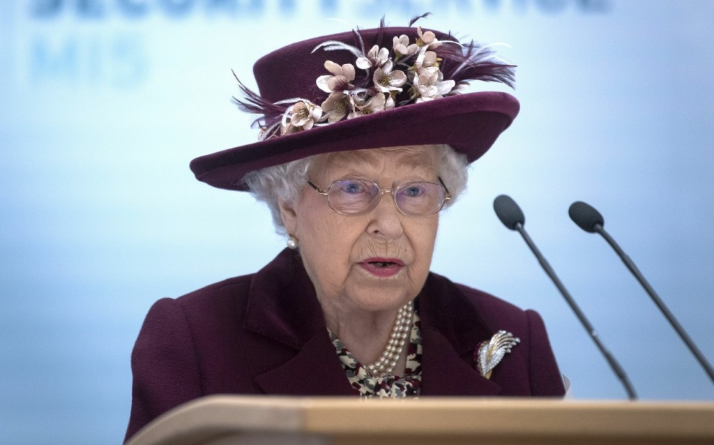 Royal visit to MI5