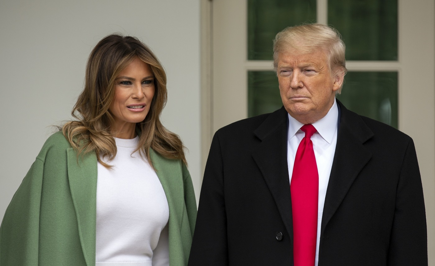 Melania Trump encouraged to get off her lazy butt & do *something* in the pandemic