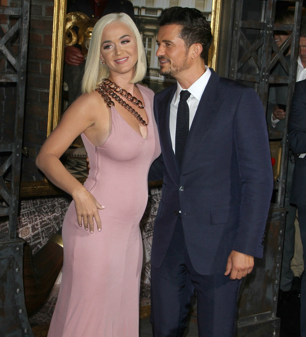 """Katy Perry, Orlando Bloom attends The Premiere of """"Carnival Row"""" in Los Angeles"""