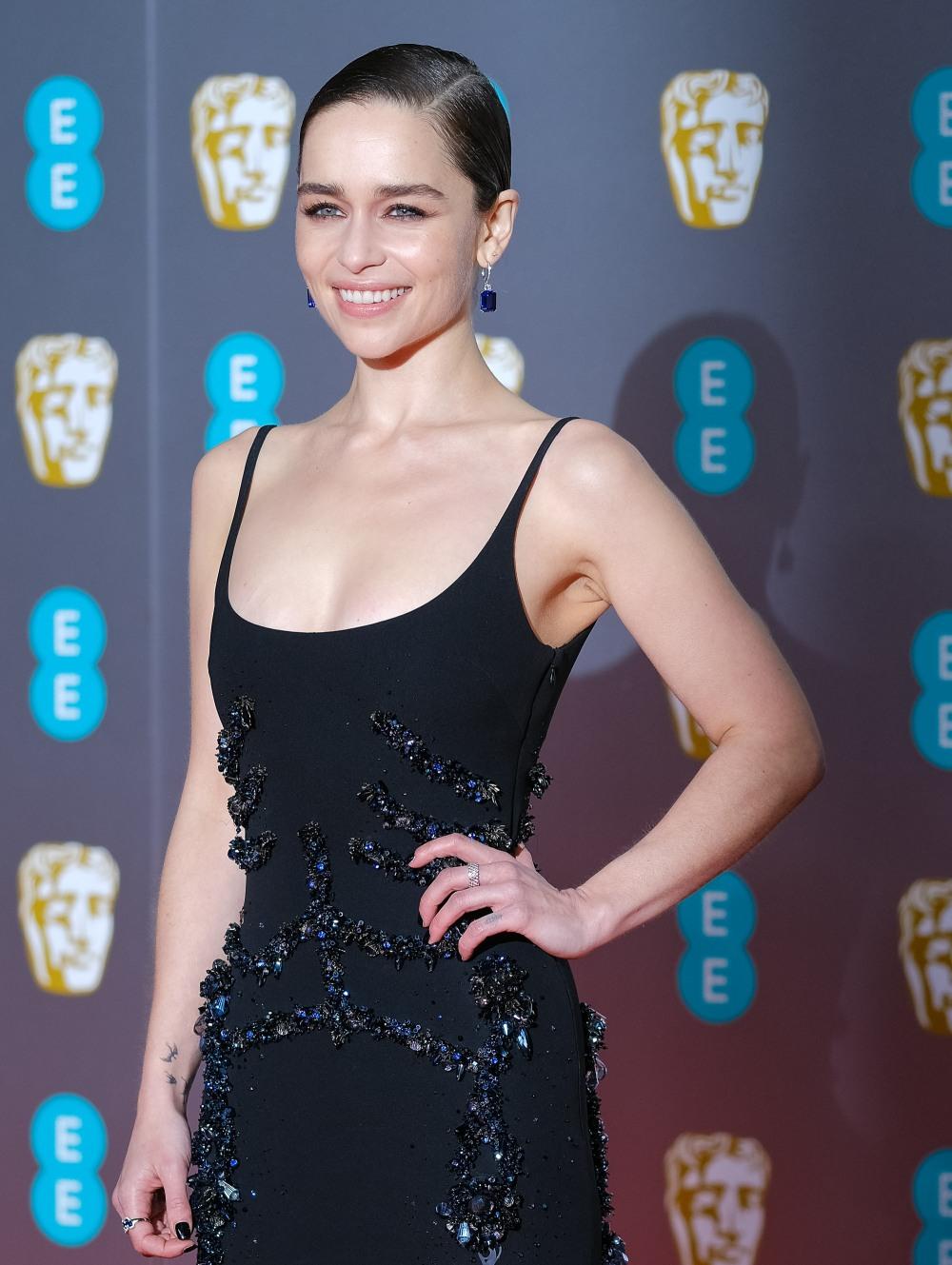 Domenica 2 febbraio 2020 Emilia Clarke parteciperà agli EE British Academy Film Awards del 2020