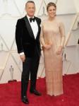 Tom Hanks, Rita Wilson partecipa alla 92a edizione degli Academy Awards - Arrivi a Los Angeles