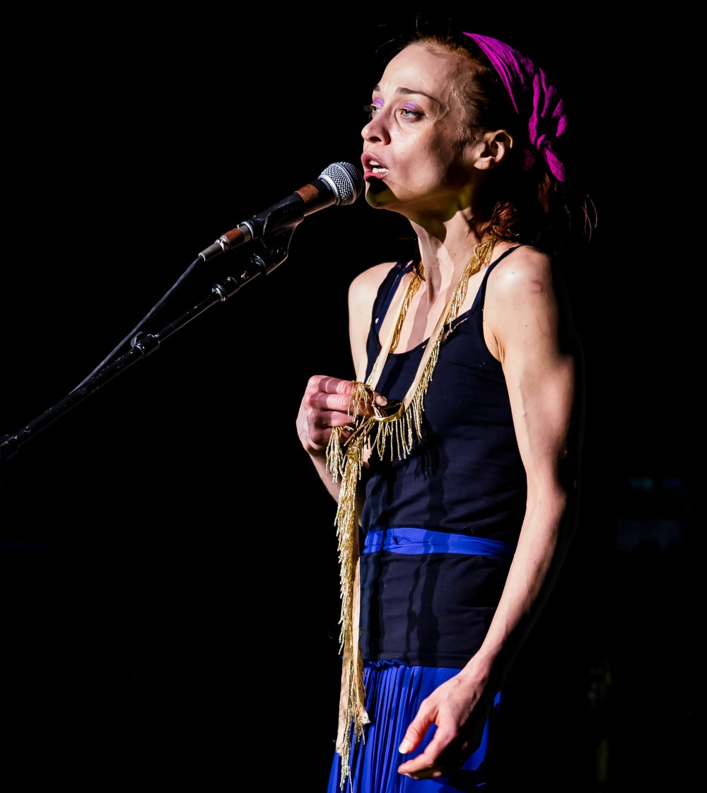 Fiona Apple performs at The Joint at Hard Rock Hotel & Casino in Las Vegas, NV on September 15, 2012